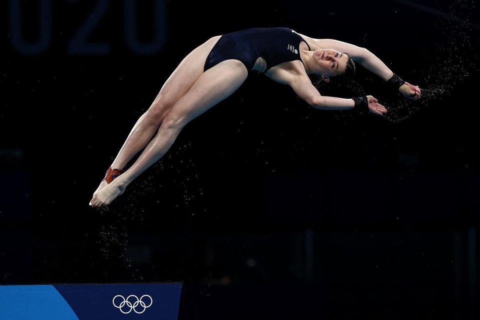 Andrea Spendolini Sirieix of Team Great Britain competes