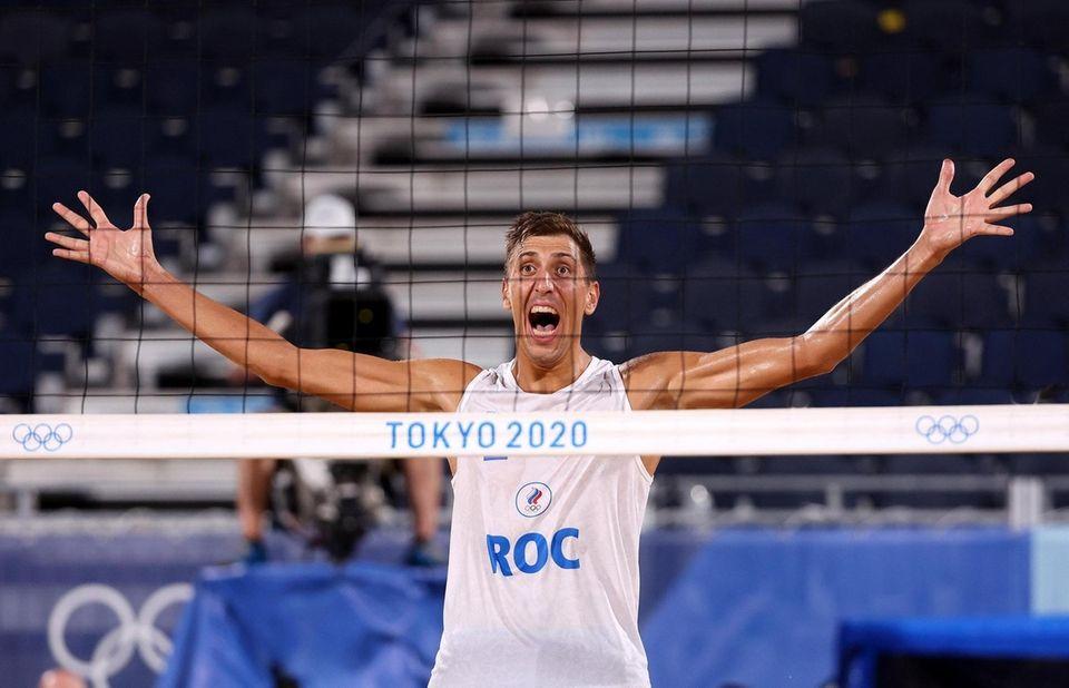TOKYO, JAPAN - AUGUST 05: Oleg Stoyanovskiy #2