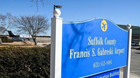 Francis S. Gabreski Airport in Westhampton Beach will