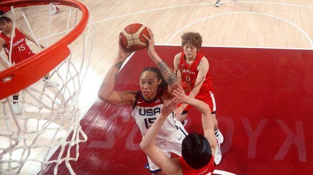 Brittney Griner #15 of Team United States