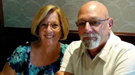 Peggy and Manny Felouzis of Medford on Father's