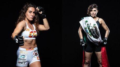Claudia Diaz, left, and Paulina Vargas will meet