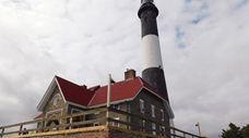 The Fire Island Lighthouse, located on Fire Island