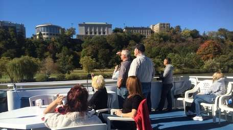 View of West Point Military Academy from the