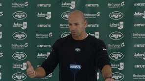 New Jets head coach was asked about edge