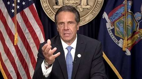 Gov. Andrew M. Cuomo announces on Tuesday that