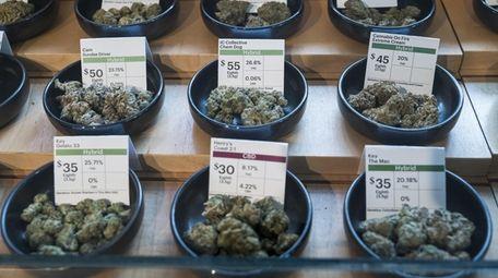 Legal retail sales of recreational marijuana are expected