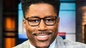 """Nate Burleson, a host of """"Good Morning Football"""""""