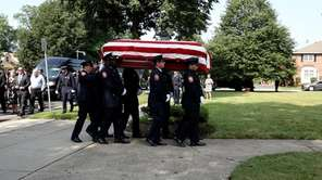 The Nassau County Police Department held a funeral