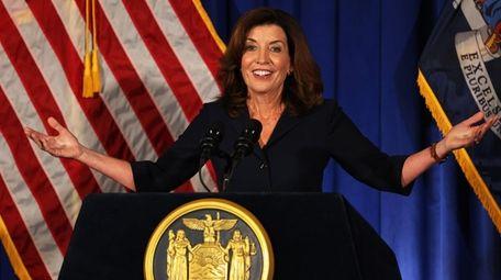 Lt. Gov. Kathy Hochul, New York's incoming governor,
