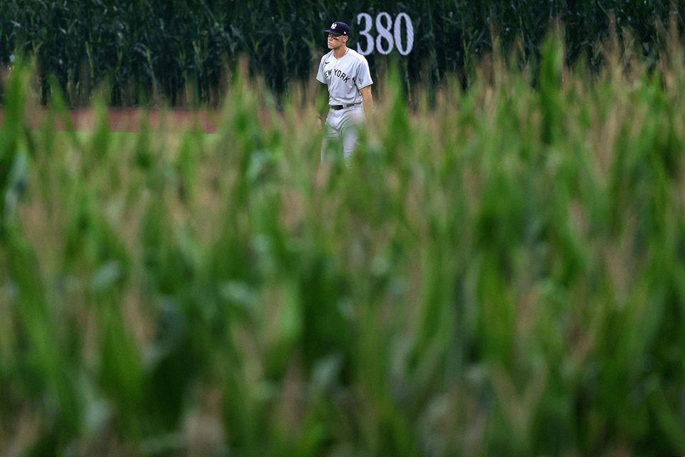 Aaron Judge of the New York Yankees anticipates