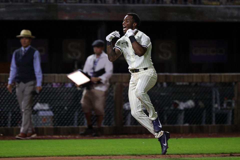 Tim Anderson #7 of the Chicago White Sox