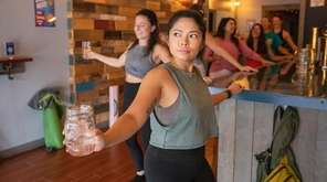 Barre & Beer is a full body workout
