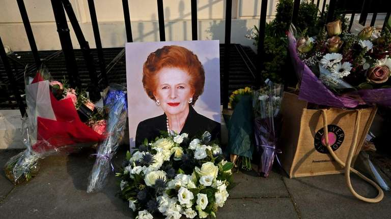 Londoners on Monday marked the death of Margaret