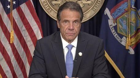 Gov. Andrew M. Cuomo announced his resignation on