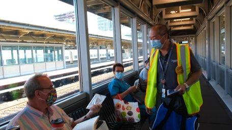 Newsday transportation reporter Alfonso Castillo spoke to Phillip