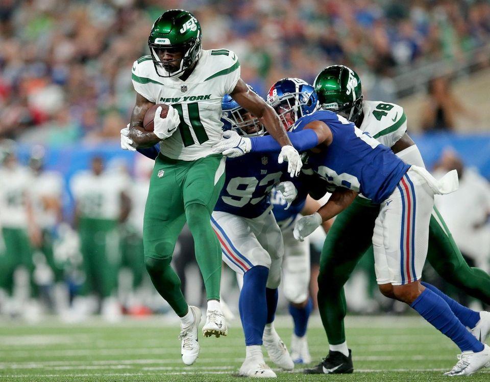 New York Jets wide receiver Denzel Mims (11)