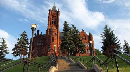 Syracuse University, commonly referred to as Syracuse is