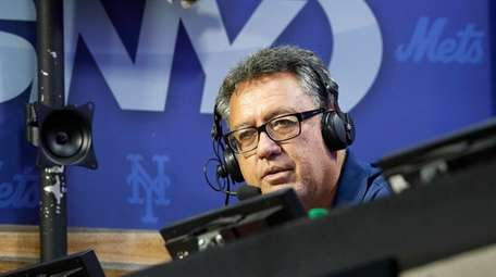 Former New York Met and current SNY broadcaster