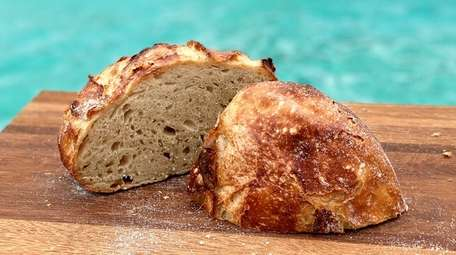 The country sourdough is the flagship loaf of