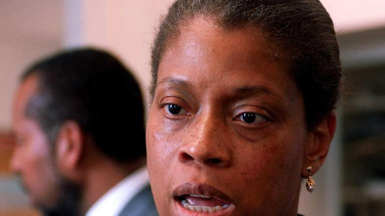 Renaire Frierson talks about being reinstated to her