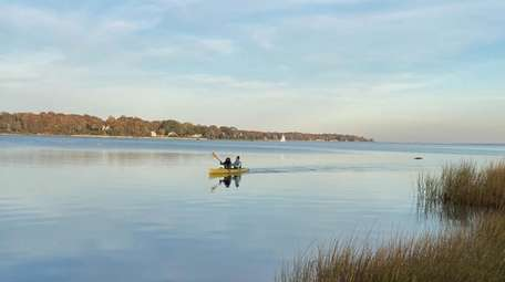 The Shelter Island Kayak company offers self-guided tours