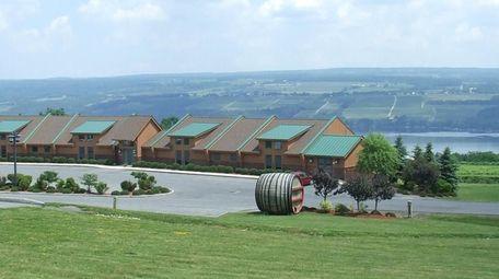 The Inn at Glenora Wine Cellars is a