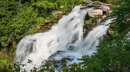 This 167-foot waterfall is located within Chittenango Falls