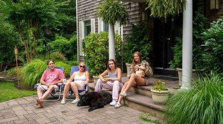 The Morse family, from left, Ken, 53, Elizabeth,