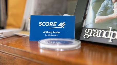 Anthony Fabbo's SCORE nametag.