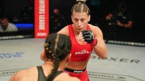 Kayla Harrison and Genah Fabian in a lightweight