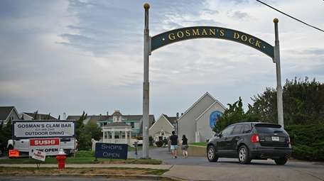 Gosman's Dock is a shopping and dining spot