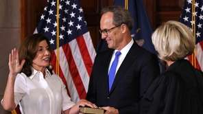 Gov. Kathy Hochul on Tuesday took a ceremonial