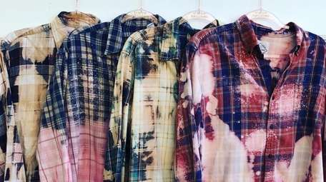 It's fuzzy math, but flannel (a big trend)