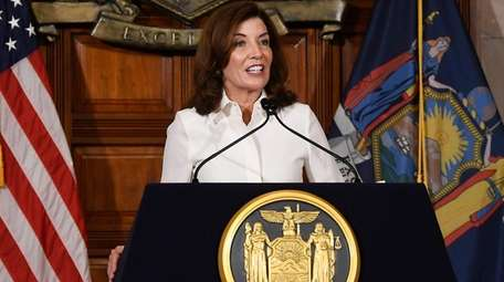 Gov. Kathy Hochul said the change in how