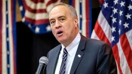New York State Comptroller Thomas P. DiNapoli speaks