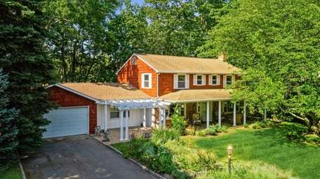 This four-bedroom home in Southold is listed for