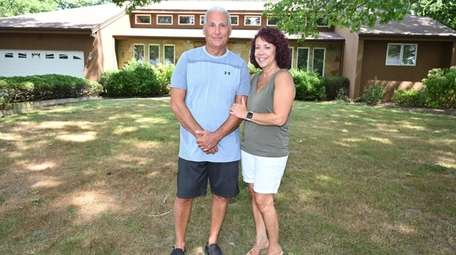Gary and Laura Interrant, who purchased a second