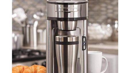 Hamilton Beach single-serve coffee maker brews an 8-ounce