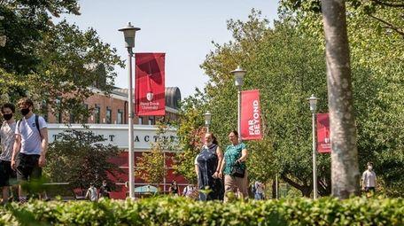 Stony Brook University opened to classes on Aug.
