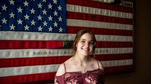 Newfield High School senior Ally Short, 16, willsingthe