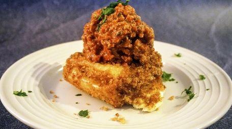 """The Original: fried lasagna from Fried Lasagna Mama."