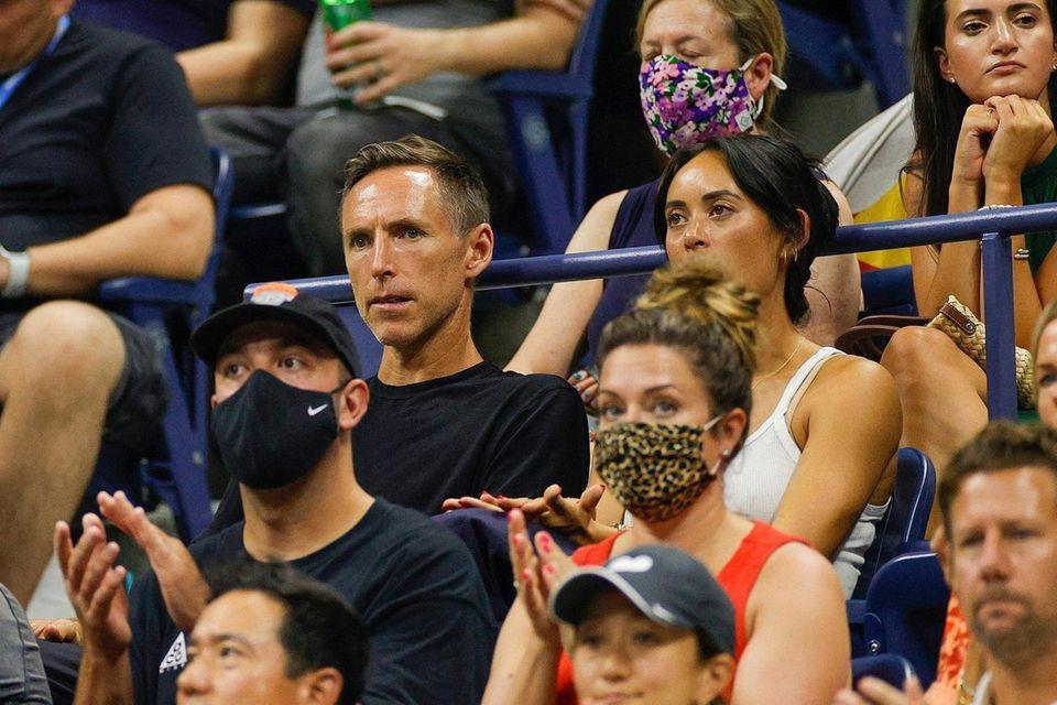 Brooklyn Nets Head Coach Steve Nash attends the