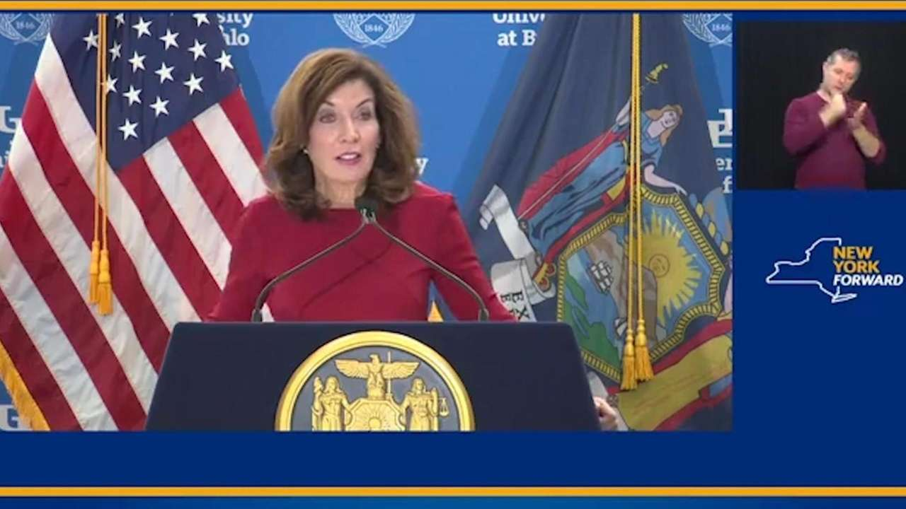 On Tuesday, Gov.Kathy Hochul said she wouldwork with
