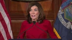 Gov. Kathy Hochul on Tuesday called for a