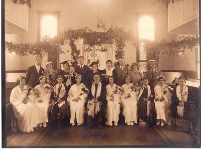 Huntington Jewish Center, 1936, Graduation Ceremony in Huntington