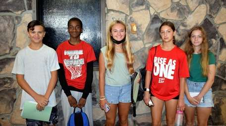 In Bohemia, Connetquot High School's freshmen were excited
