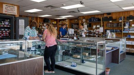 Inside Miller's Mint on Main Street in East