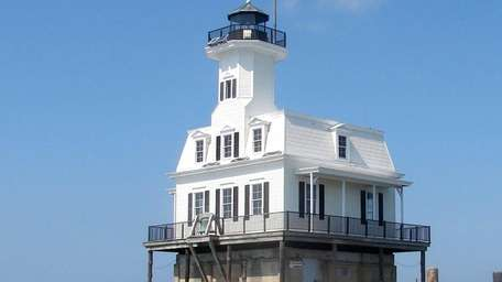 """The """"Bug Light"""" can be seen from a"""