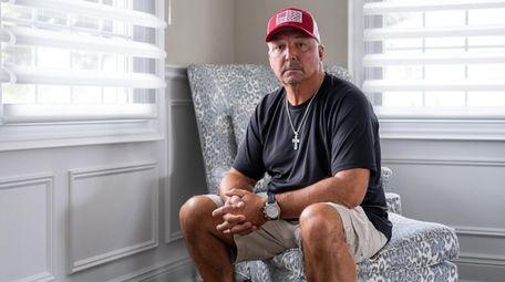 Retired NYPD Det. Robert Jordan, 52, poses for